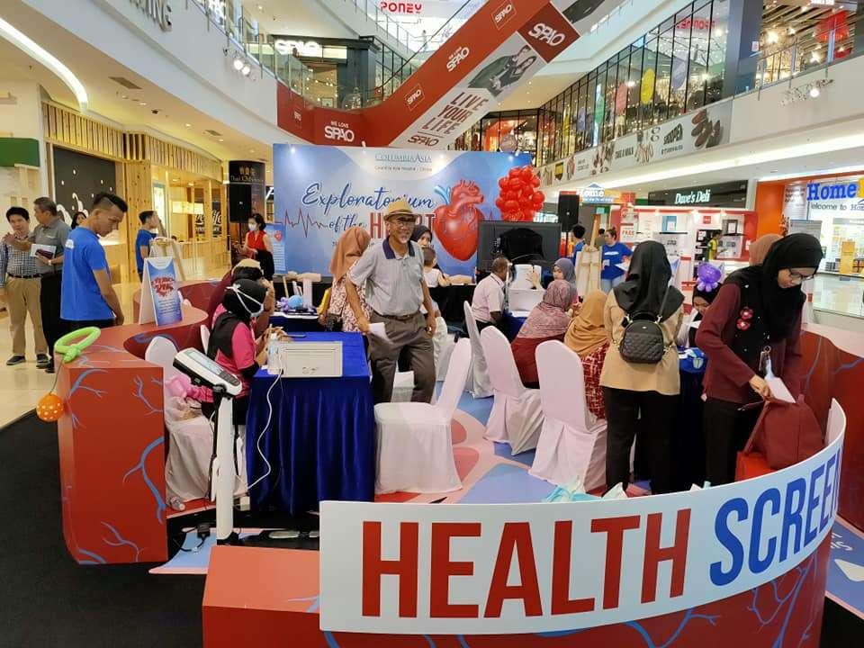 Columbia Asia Cheras Health Fest