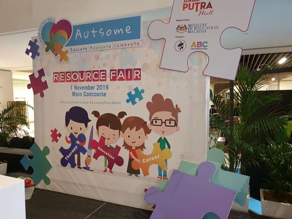 Sunway Putra Mall Autsome Resource Fair